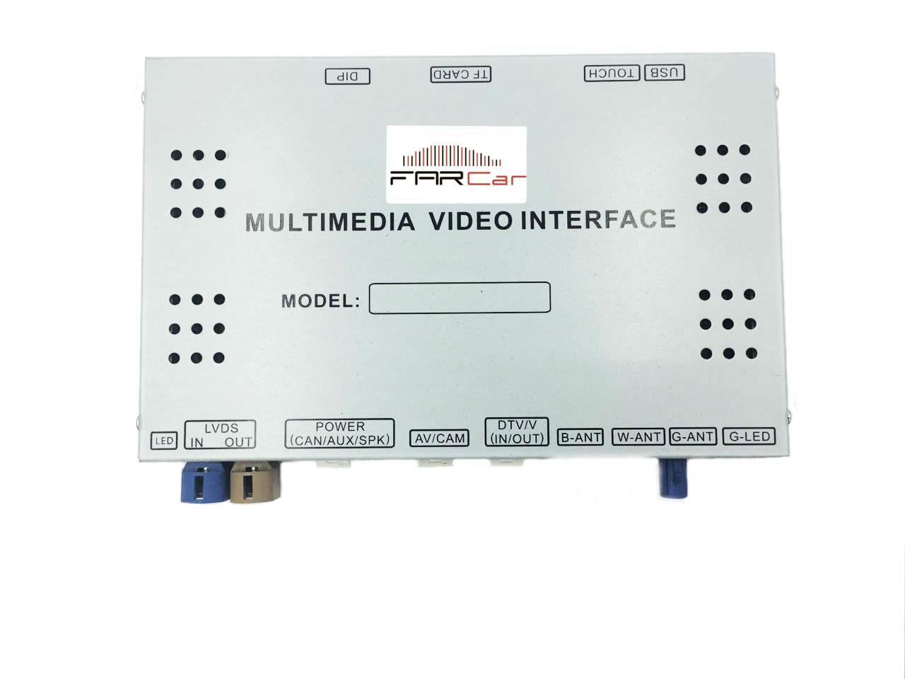 Мультимедийный навигационный блок FC-LT-3L (для минимальных комплектаций) для Lexus