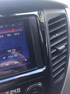 Штатная магнитола Mitsubishi Outlander, Lancer, Pajero sport 2013+ NaviFly Android 8 16/1Gb